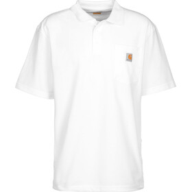 Carhartt Work Pocket Polo Men white